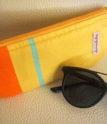 Protège lunettes tissu Basque