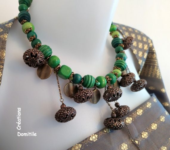 collier artisanal made in France