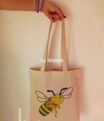 Fourre-tout avec une abeille