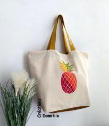 cabas colore artisanal ananas